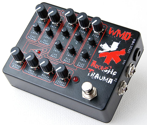 WMD Devices Acoustic Trauma Analog Distortion Machine Pedal