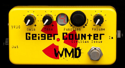 WMD Devices Geiger Counter Civilian Issue Distortion and Bitcrusher Pedal