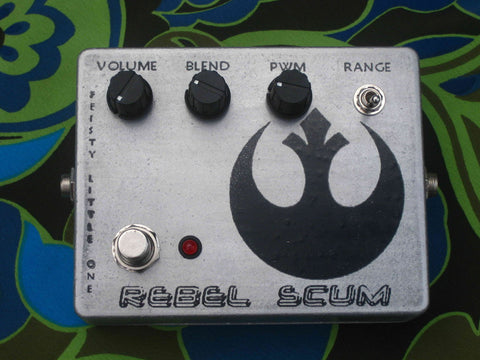 Feisty Little One Rebel Scum Gated Fuzz Distortion Pedal