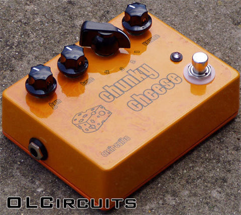 OLCircuits Chunky Cheese Fuzz Pedal ASSEMBLED