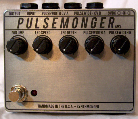 Synthmonger Pulsemonger MK1 Synth Distortion Pedal