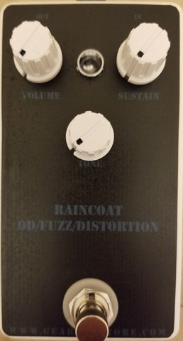Geargas Custom Shop Raincoat OD/Fuzz/Distortion Pedal