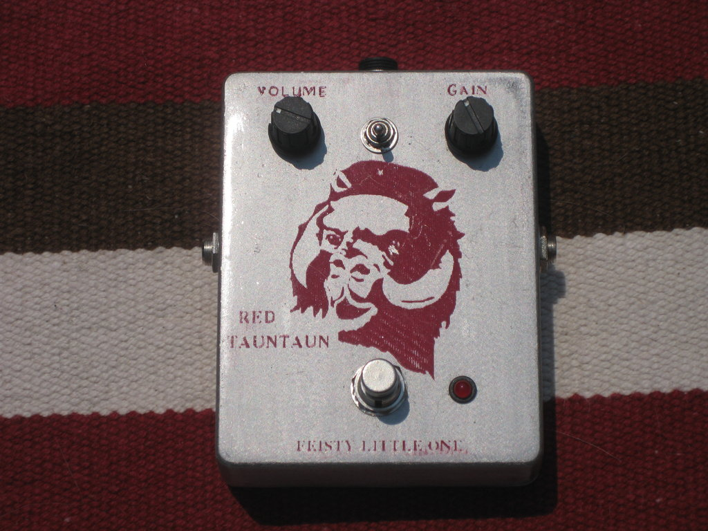 Feisty Little One Red Tauntaun Tube Sound Distortion Pedal