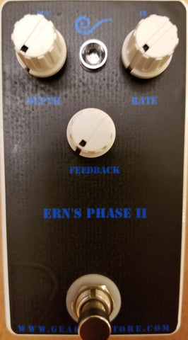 Geargas Custom Shop Ern's Phase 2 Phaser Pedal