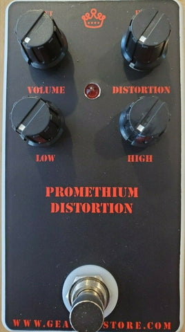 Geargas Custom Shop Prometheum Distortion Pedal