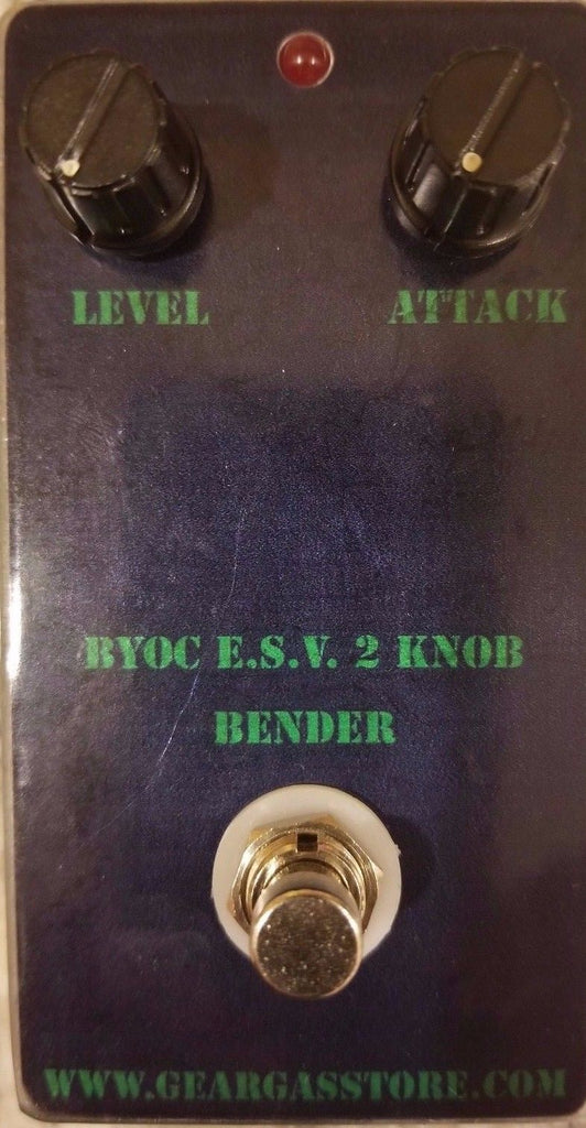 E.S.V. 2-Knob Bender (extra special vintage) Germanium Fuzz Pedal New ASSEMBLED