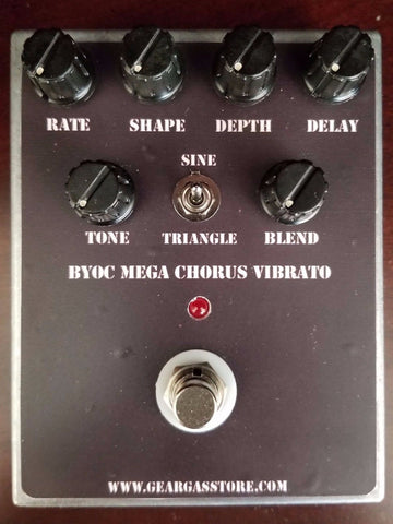 BYOC Mega Chorus and Vibrato New ASSEMBLED