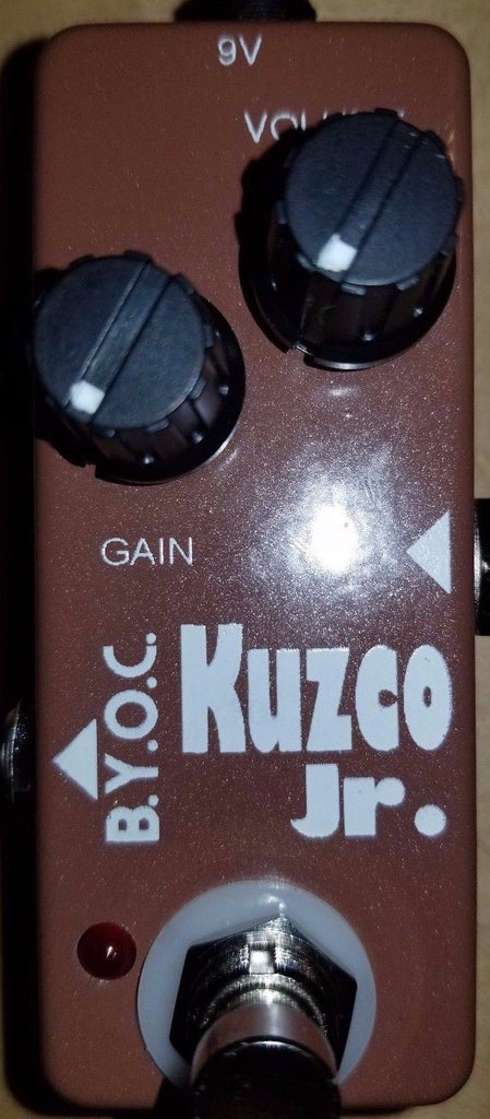 BYOC Kuzco Jr Overdrive Pedal New ASSEMBLED