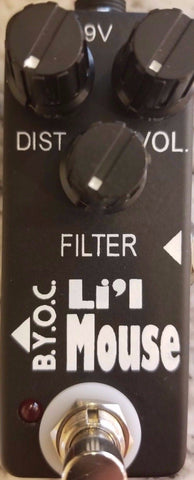 BYOC Lil Mouse Distortion Pedal New ASSEMBLED