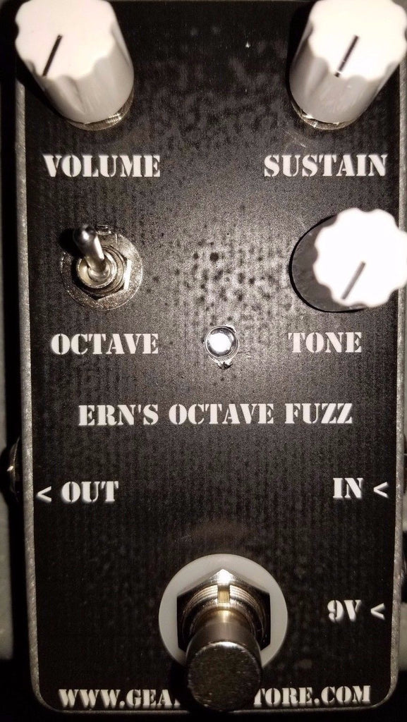 Geargas Effects Ern's Octave Fuzz