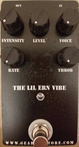 Geargas Custom Shop Lil Ern Vibe Univibe Pedal
