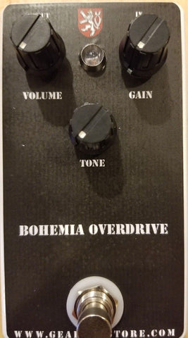 Geargas Custom Shop Bohemia Overdrive Pedal