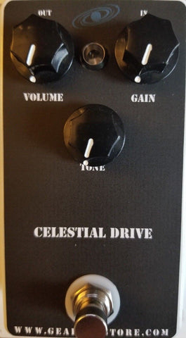 Geargas Custom Shop Celestial Drive Overdrive Pedal