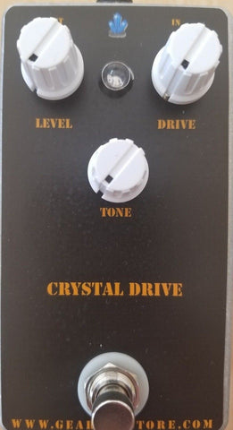 Geargas Custom Shop Crystal Drive Overdrive Pedal