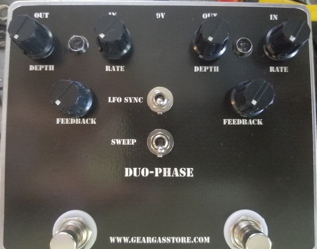 Geargas Custom Shop Duo-Phase Dual Phaser Pedal