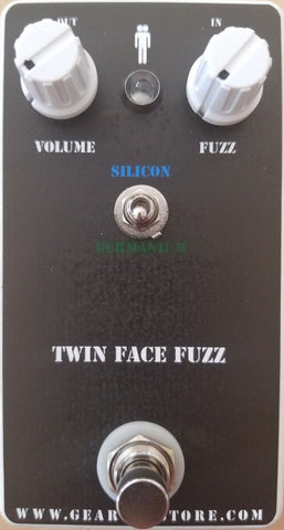 Geargas Custom Shop Twin Face Silicon and Germanium Switchable Fuzz Pedal