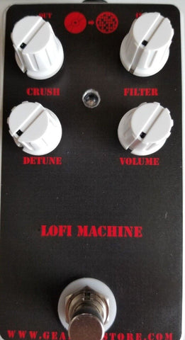 Geargas Custom Shop LoFi Machine Bitcrusher Pedal