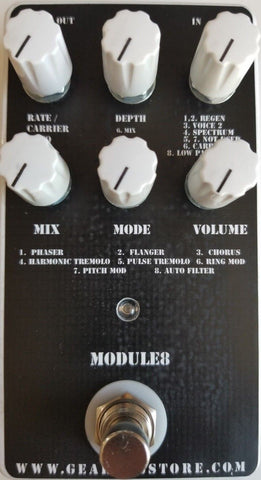 Geargas Custom Shop Module8 Multi-Modulation Pedal