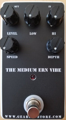 Geargas Custom Shop Medium Ern Vibe Univibe Pedal