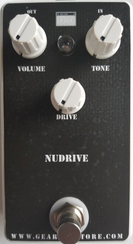 Geargas Custom Shop NuDrive Korg NuTube Based Overdrive Pedal
