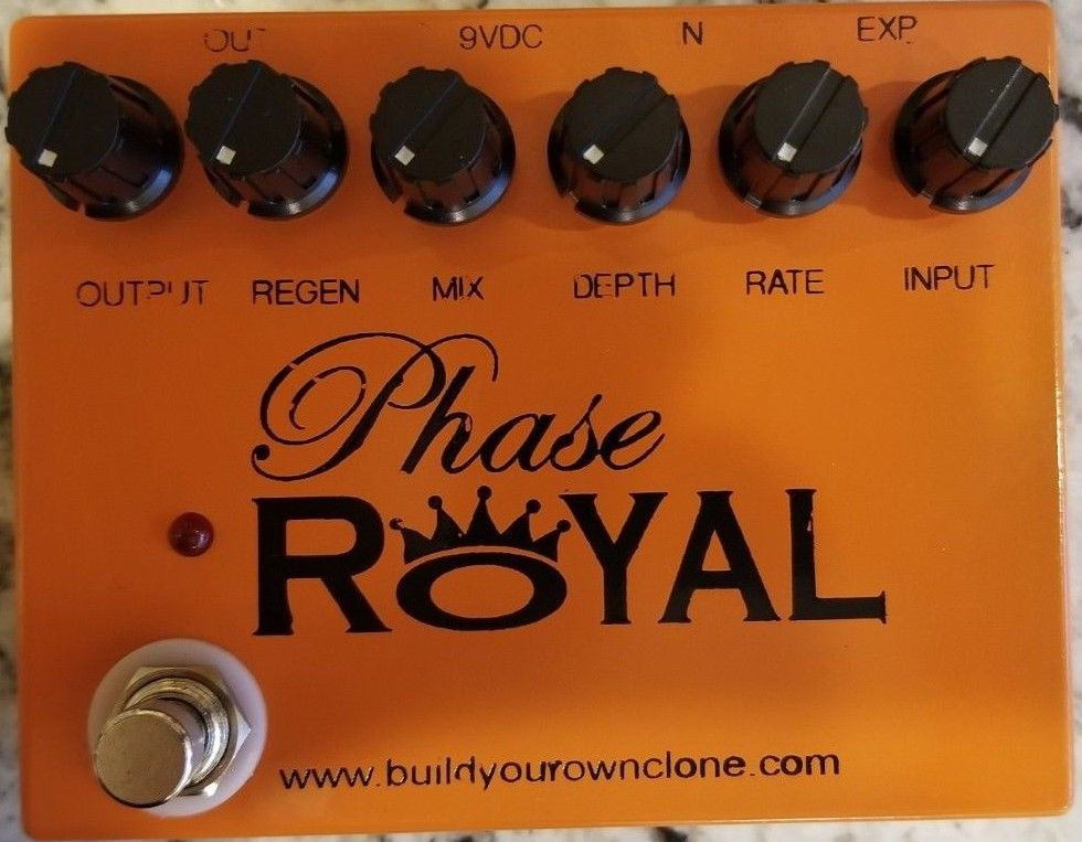 BYOC Phase Royal V2 Modular Phaser Pedal New ASSEMBLED