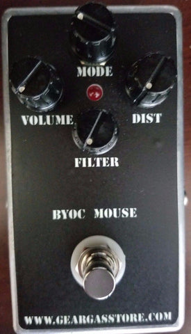 BYOC The Mouse Distortion Pedal New ASSEMBLED