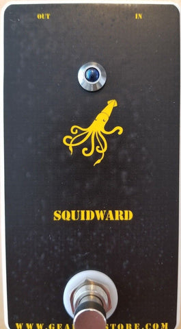 Geargas Custom Shop Squidward Analog Octave Up Pedal