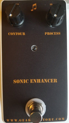 Geargas Custom Shop Sonic Enhancer Pedal