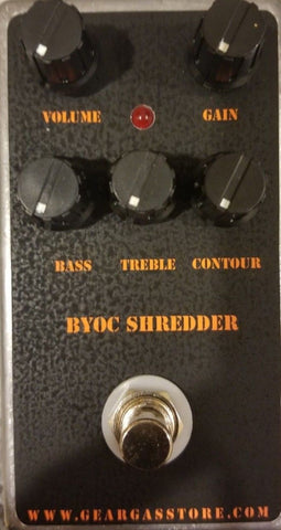 BYOC Shredder Distortion Pedal New ASSEMBLED