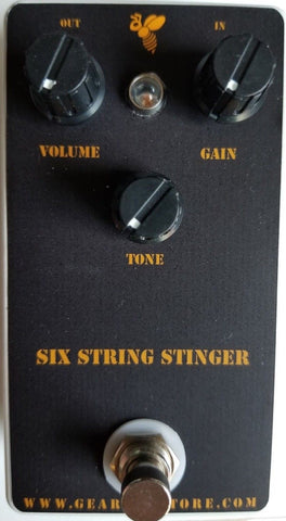 Geargas Custom Shop Six String Stinger Overdrive Pedal