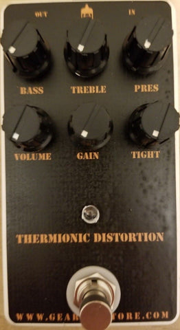 Geargas Custom Shop Thermionic Distortion Pedal