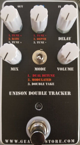 Geargas Custom Shop Unison Double Tracker Delay Pedal
