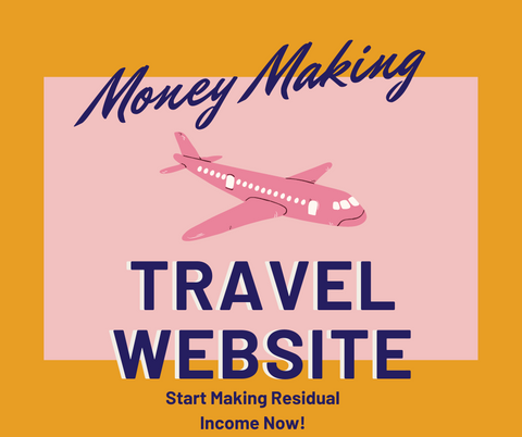 Income Making Travel Website