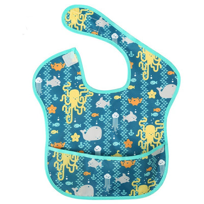 Baby Waterproof Superbib with Pocket
