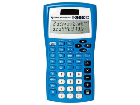 Texas Instruments TI-30X IIS Scientific Calculator 10-Digit LCD 4 Math Algebra