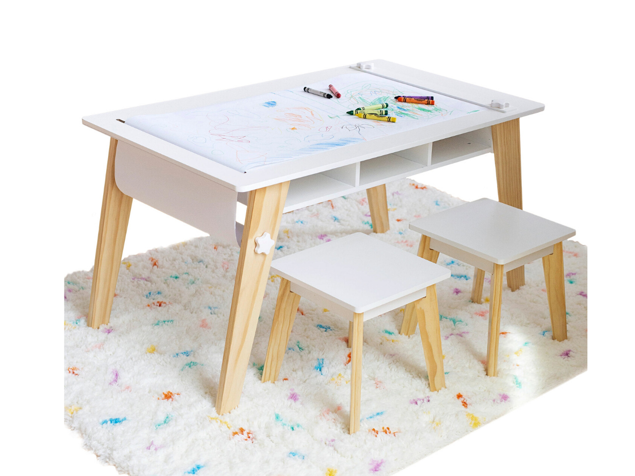 Arts and Crafts Table - White