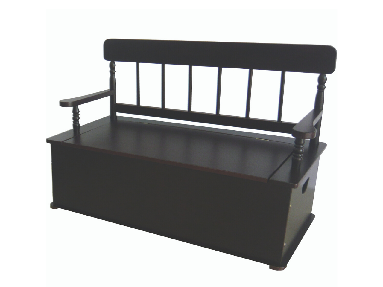 Espresso Bench Seat with Storage