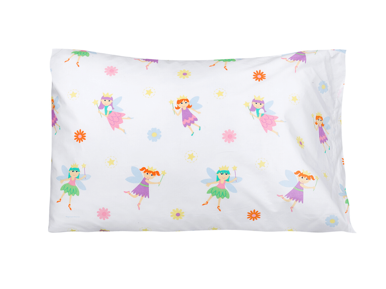 100% Cotton Pillow Cases - Fairy Princess