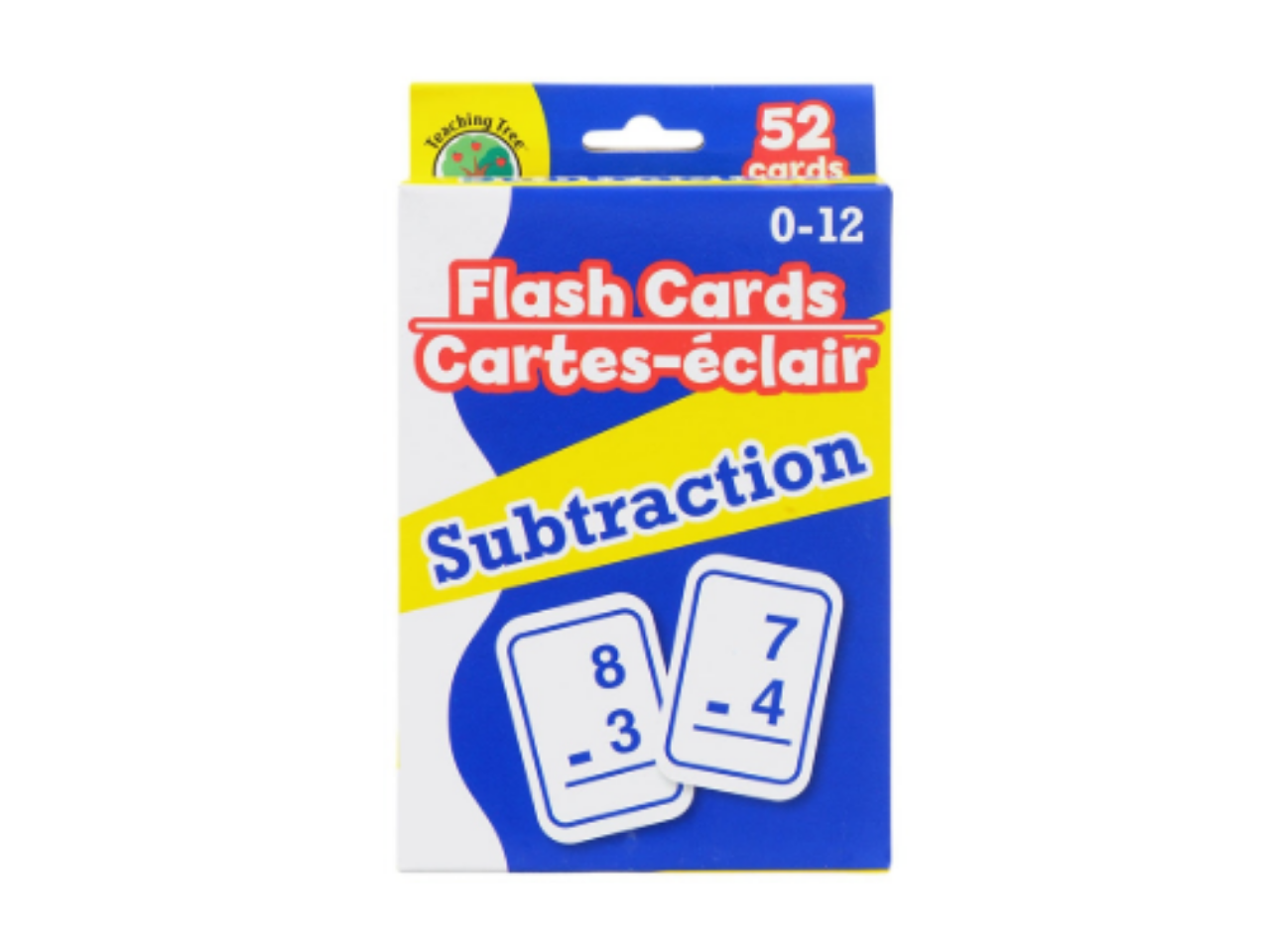 Math Flash Cards - Subtraction