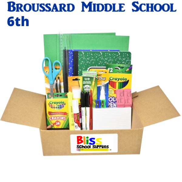 Broussard Middle School - Sixth Grade