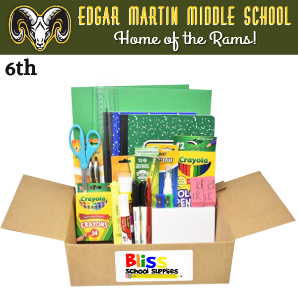 Edgar Martin Middle School - Sixth Grade