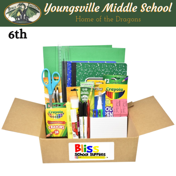 Youngsville Middle School - Sixth Grade