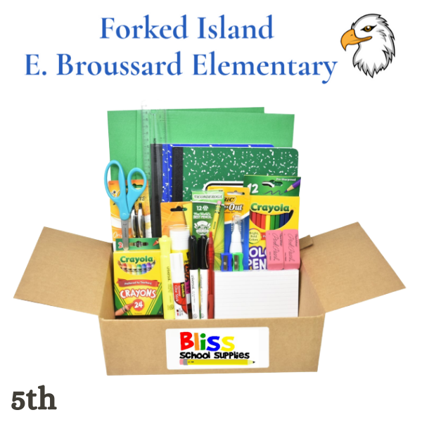 Forked Island E. Broussard - Fifth Grade