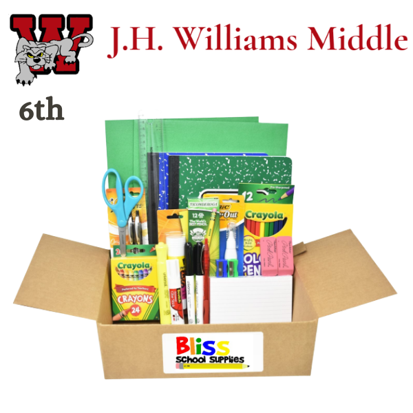 J. H. Williams - Sixth Grade