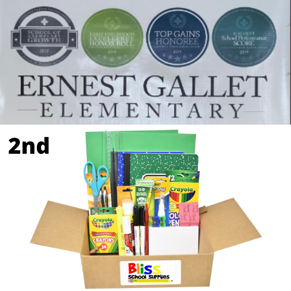 Ernest Gallet Elementary - Second Grade