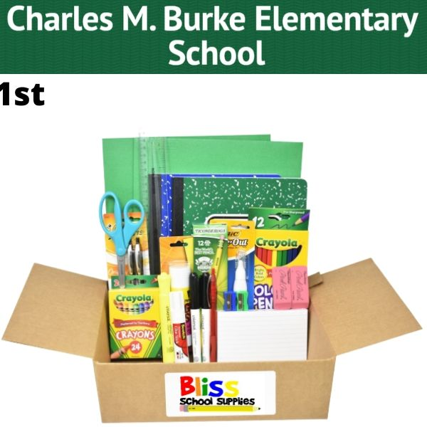 Charles M. Burke Elementary - Supply Kits