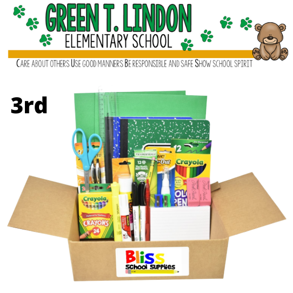 Green T. Lindon Elementary - Third Grade