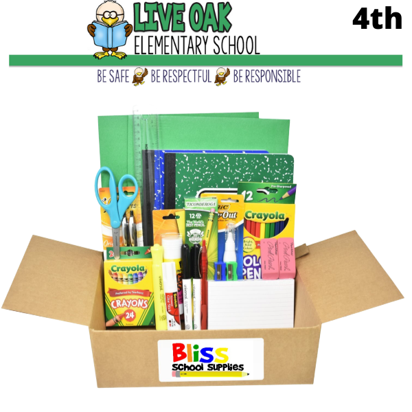 Live Oak Elementary - Fourth Grade