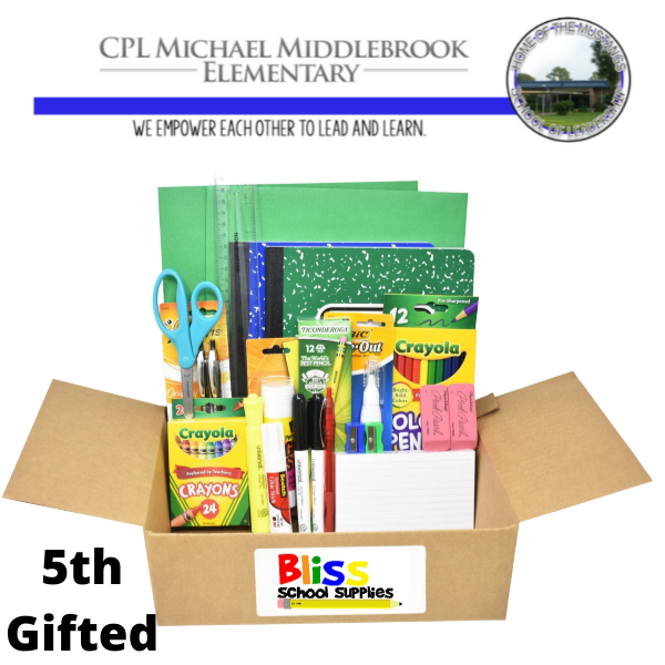 Corporal Michael Middlebrook - Fifth Grade Gifted