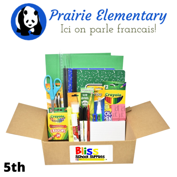 Prairie Elementary - Fifth Grade French Immersion